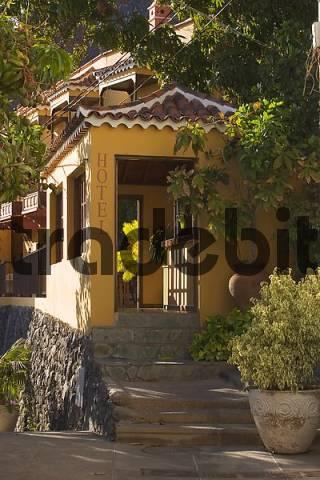 Hotel jardin concha in la calera valle gran rey la for Hotel jardin concha la gomera