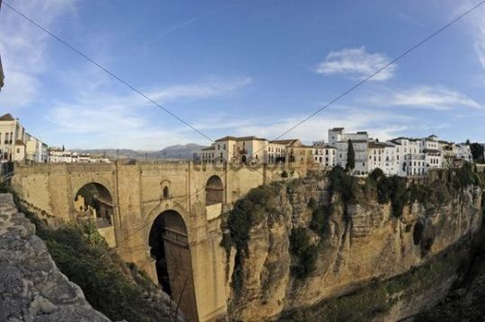 Puente Nuevo, new bridge, Ronda, Andalusia, Spain, Europe
