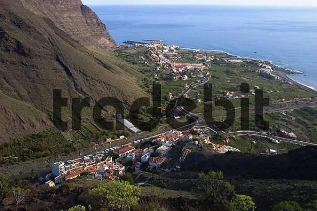 La Calera and Vueltas - Valle Gran Rey - La Gomera
