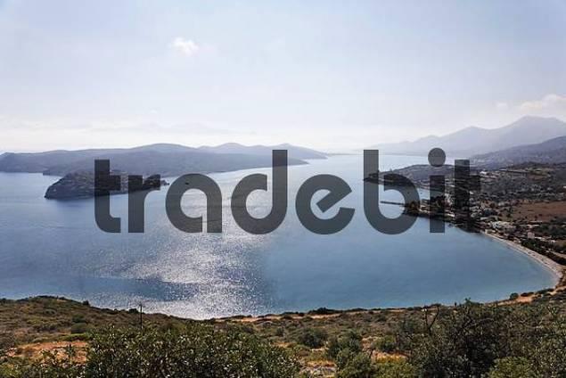 Spinalonga island, Spinalonga Bay, Plaka, Eastern Crete, Greece