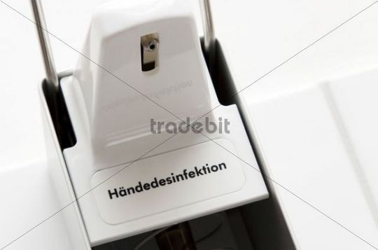 Hygiene, disinfection of the hands