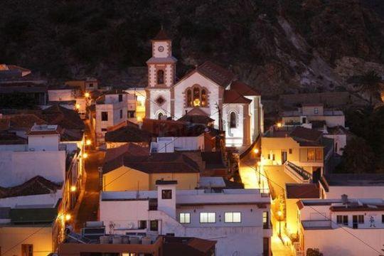 Church of Iglesia de San Juan Bautista, Vallehermoso, La Gomera, Canary Islands, Spain, Europe