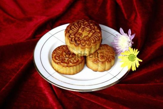 Mooncake, traditional Chinese bakery product