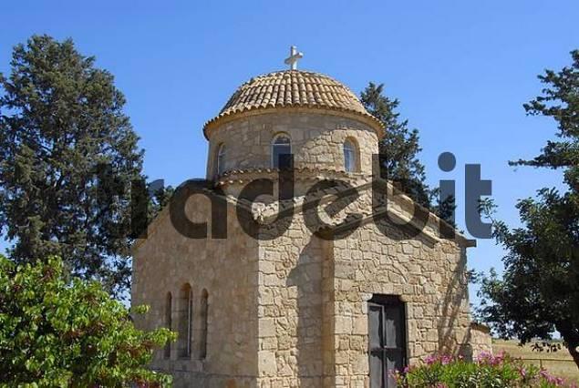 Chapel near Apostle Apostolos Barnabas monastery near Salamis North Cyprus