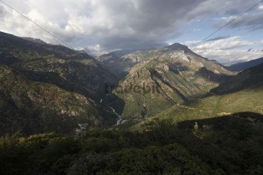 View of the Kings Canyon, Kings Canyon National Park, California, USA