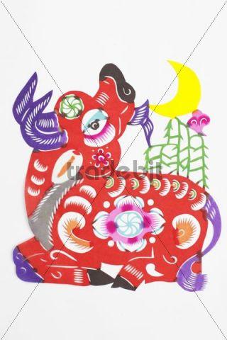 Chinese paper cutting or Jianzhi
