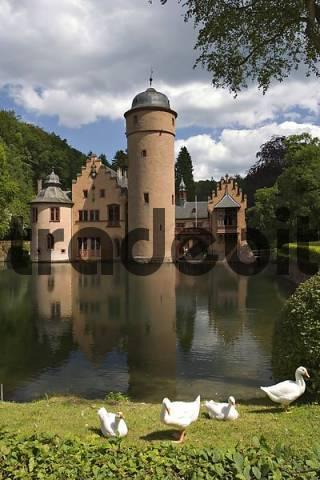 castle Mespelbrunn - Spessart - Franconia - Germany