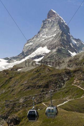 Matterhorn, Zermatt, Grisons, Switzerland, Europe