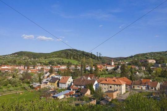 Korycany and Chriby Mountains, Kromeriz district, Zlin region, Moravia, Czech Republic, Europe