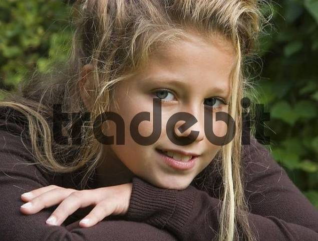 Fourteen Year Old Girl Portrait of a 14 Year Old Girl