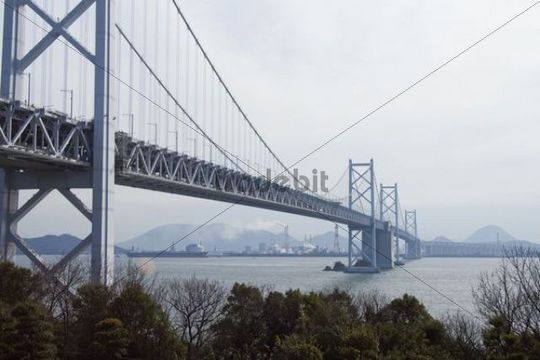 Great Seto Bridge, or Seto-Ohashi Bridge, Japan, Asia