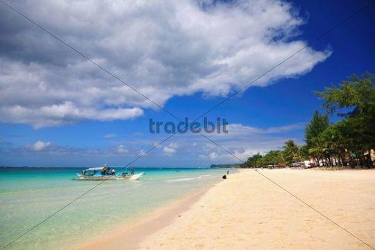 Beach, Boracay island, Philippines, Southeast Asia