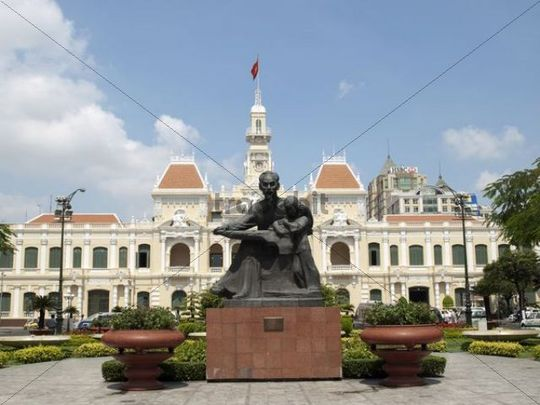 Ho Chi Minh City Hall or Ho Chi Minh City People´s Committee, Ho Chi Minh City, Vietnam, Southeast Asia