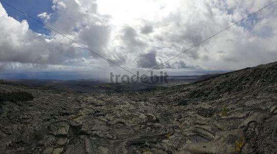 Chain of Craters Road, Hawai´i Volcanoes National Park, Big Island, Hawaii, USA