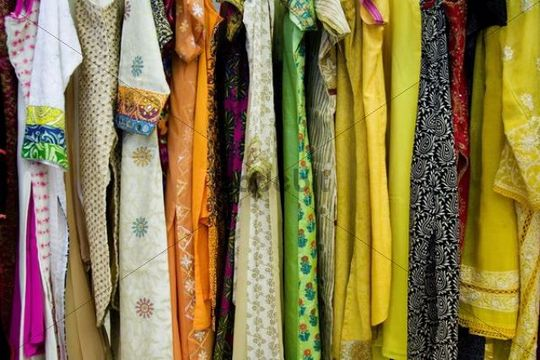Colourful Indian dresses