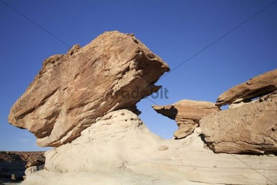 Rock formation at Stud Horse Point, Utah, USA, America