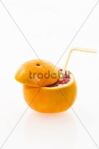 how to cut a grapefruit for drinks