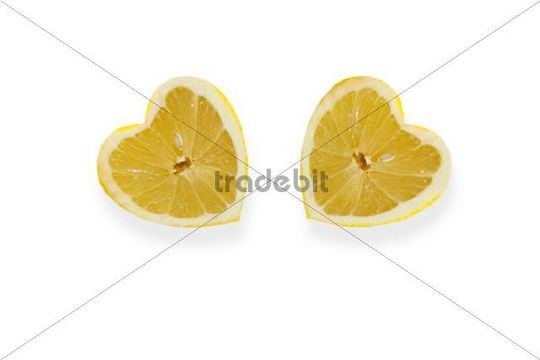 Heart-shaped lemons