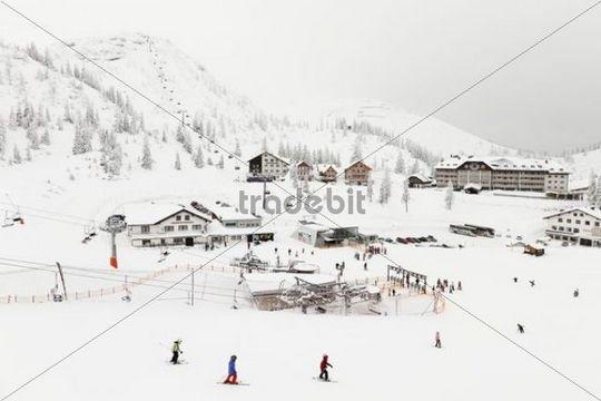 Hochkar ski resort near Goestling an der Ybbs, Mostviertel, Must Quarter, Lower Austria, Austria, Europe