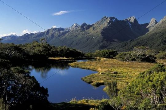 Key Summit, Routeburn Track, Fiordland National Park, South Island, New Zealand