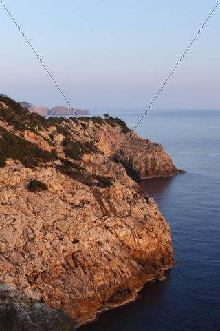 Cabo de Capdepera near Cala Ratjada, Cala Ratjada, Majorca, Balearic Islands, Spain, Europe