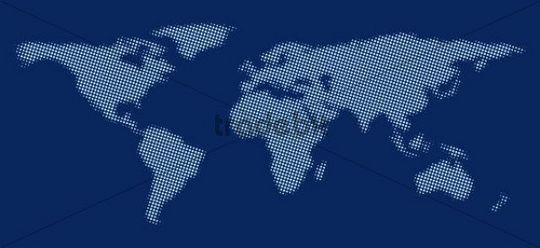 Stylized world map made of light blue dots on a dark blue surface stylized world map made of light blue dots on a dark blue surface gumiabroncs Images