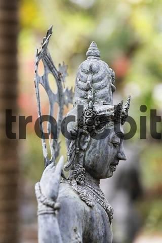 figure of goddess on Bali, Indonesia