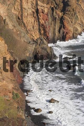 beach Prainha near Canical - Ponta de Sao Lourenco - Madeira