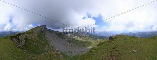 Mt. Hoher Ifen, Kleinwalsertal, Austrian, Europe