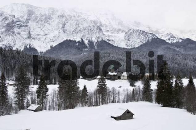 Castle Elmau in Upper Bavaria