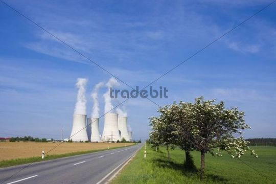 Nuclear power plant Dukovany, Trebic district, Vysocina region, Czech Republic, Europe