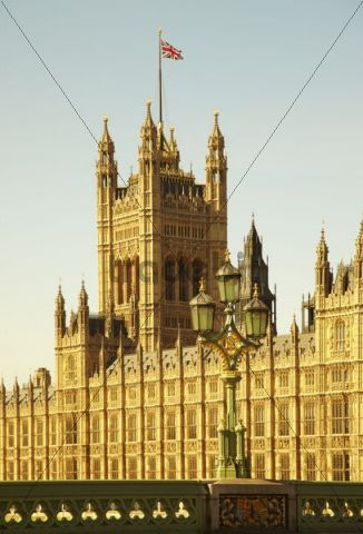 Palace of Westminster, Houses of Parliament, London, England, United Kingdom, Europe
