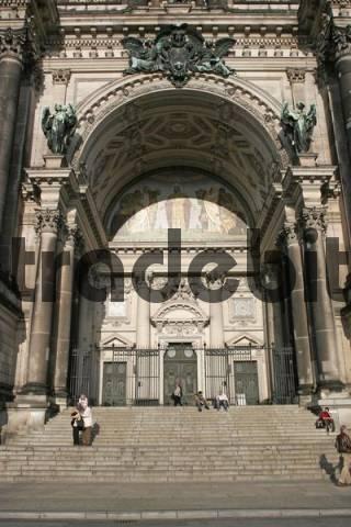 Berlin cathedral in Berlin Mitte, Berlin, Germany, Europe