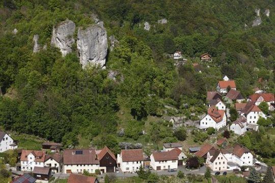 Streitberg, market town of Wiesenttal, Franconian Switzerland, Upper Franconia, Franconia, Bavaria, Germany, Europe