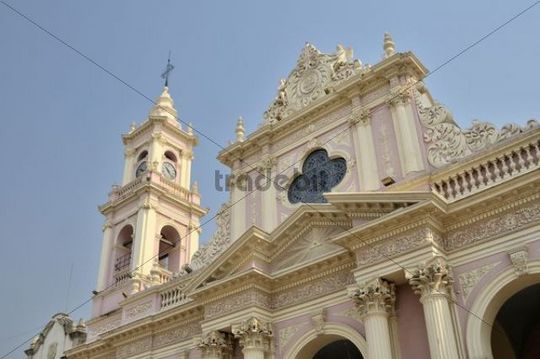 Cathedral of Salta, Argentina, South America