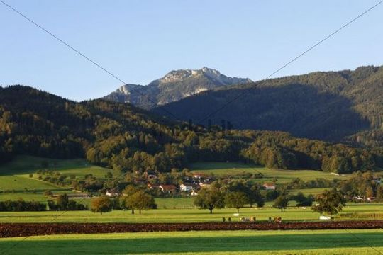 Mt Breitenstein in Mangfallgebirge, Mangfall mountains, Derndorf, Bad Feilnbach, Upper Bavaria, Bavaria, Germany, Europe, PublicGround