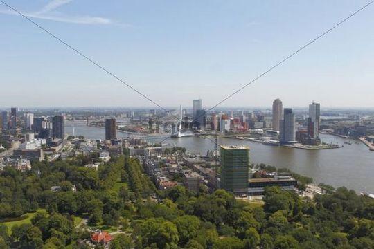 Cityscape of Rotterdam, Holland, the Netherlands, Europe