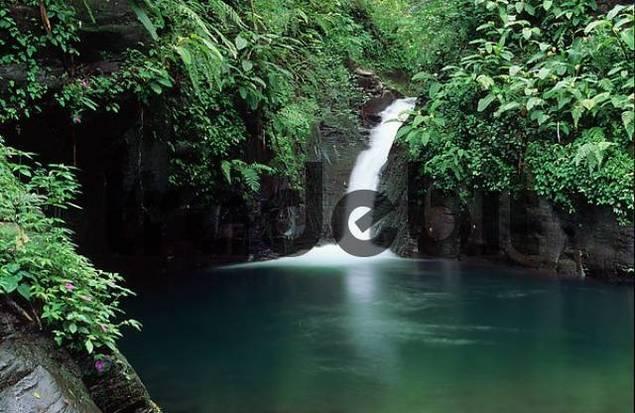 waterfall in Rincon de La Vieja - Cordillera de Guanacaste - Costa Rica