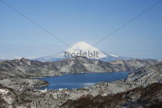 Lake Ashi, Hakone Lake, or Ashinoko Lake, Hakone, Japan, Asia