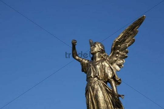 Angel statue, Bonsecours, Quebec, Canada
