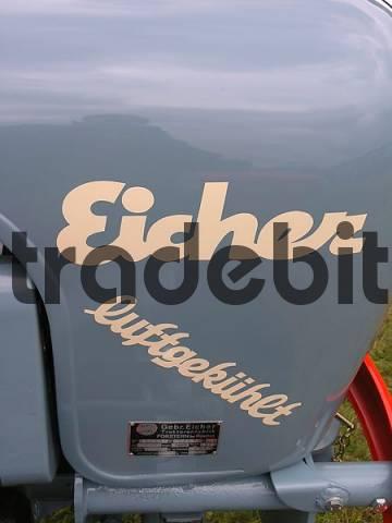 vintage tractor nameplate Germany