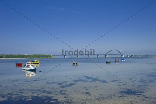Fehmarn Sound Bridge, Fehmarn island, Baltic Sea, Schleswig-Holstein, Germany, Europe