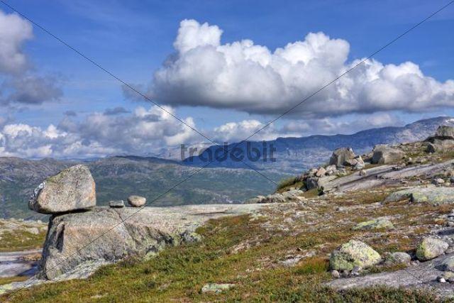 Landscape in Rago National Park, Nordland county, Norway, Scandinavia, Europe