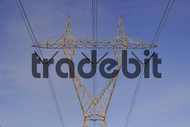 Electrical tower/pylon - high power transmission