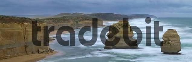 Twelve Apostles at coast of Victoria Australia