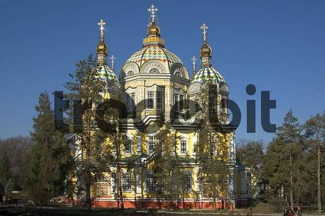 Ascension Church Almaty Kazakhstan