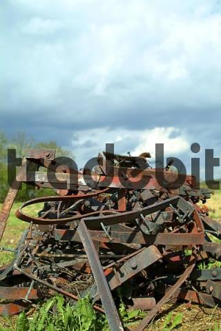 scrap metal, scrap iron