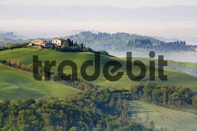 Tuscany, Crete, Europe, Italy