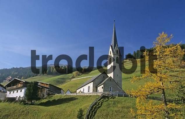 church of the holy Nikolaus in Durnholz South Tirol Italy