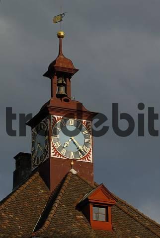 detail from the old city-hall in Stein am Rhein - Kanton Schaffhausen, Switzerland, Europe